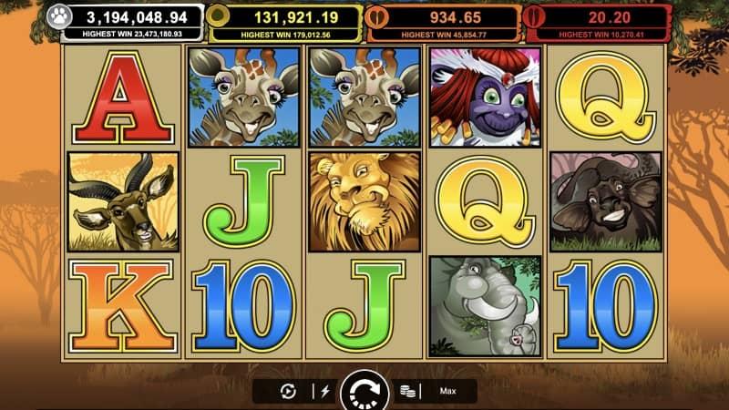 Mega Moolah - Progressive Jackpot Slot - Microgaming